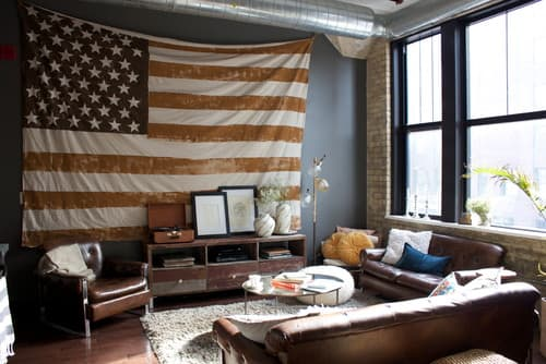 Contemporary Living Room by Minneapolis Interior Designers & Decorators Carly Boettcher