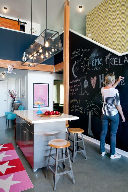 Eclectic Kitchen by Santa Monica Interior Designers & Decorators Daleet Spector Design