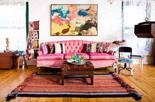 Love It? Eclectic Living Room Loft - The Finishing Touch