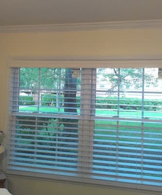 Customer Photo - Norman Faux Wood Blinds