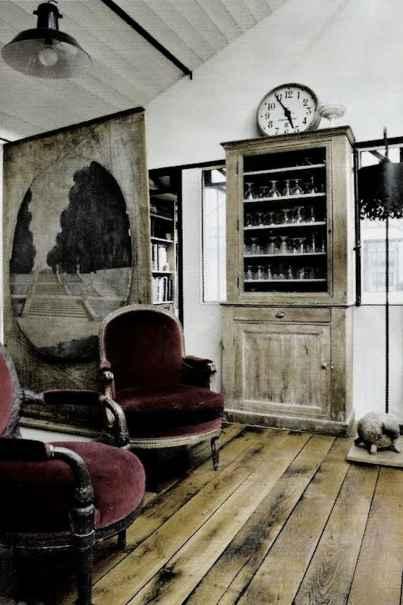 Burgundy Accents - Gothic Elegance Decorating