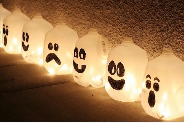 ghost milk cartons