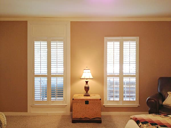 Diy Make Windows Look Taller With Molding The Blinds