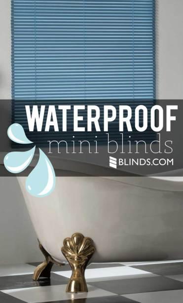 Waterproof mini blinds Blinds.com