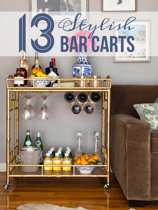 Sedgwick Bar Cart Via Society Social