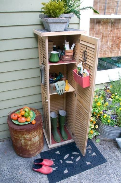 Shutter garden Cabinet