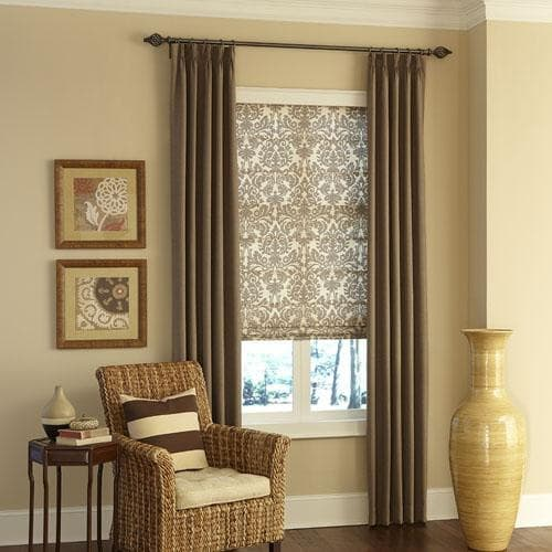 How To Mix And Match Window Treatments The Finishing Touch