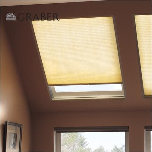 Graber skylight cell shade