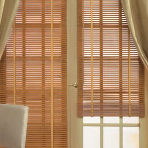 10 things you must know when buying blinds for doors the for Faux wood doors