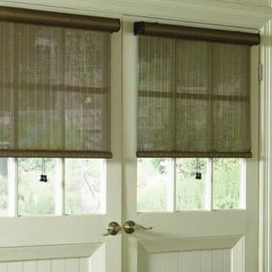 curtains for side by side windows 3 separate windows rollershadesfordoors 10 things you must know when buying blinds for doors the finishing