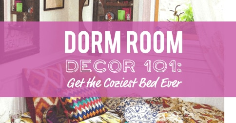 Dorm Room Decor: Get the Coziest Bed Ever
