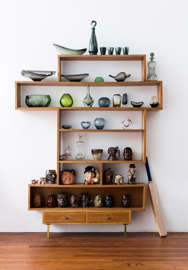 Mug and ceramics display