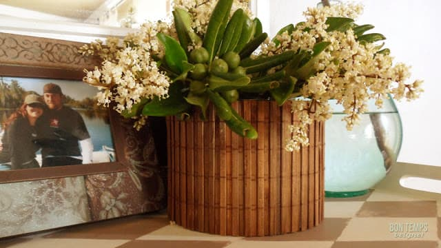 Bamboo Vase Cover