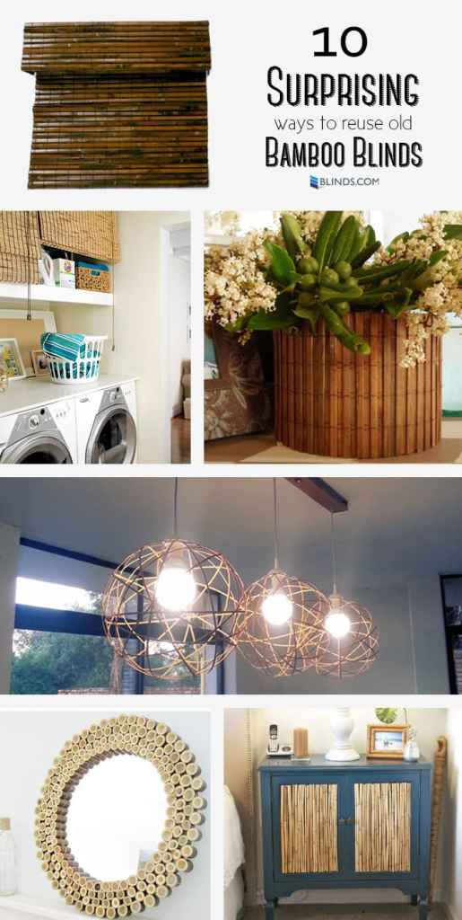 10 Surprising Ways to Reuse Old Bamboo Blinds
