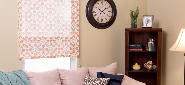 Bring Some Pattern To Your Windows Printed Roller Shades
