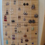 Bamboo Earring Holder