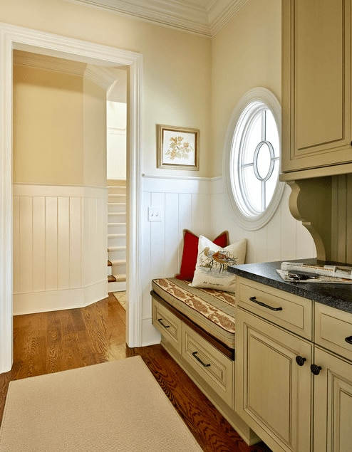 Circle Window via Carolina Design Associates on Houzz