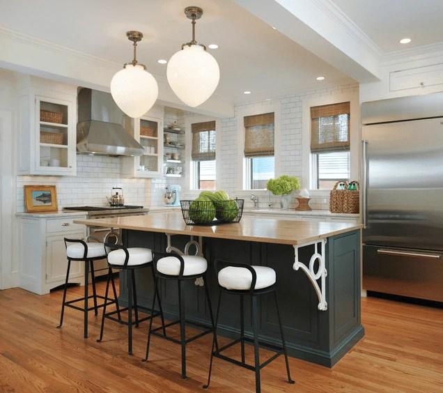Kitchen Island 2015 32 entertaining-friendly kitchen islands - the finishing touch