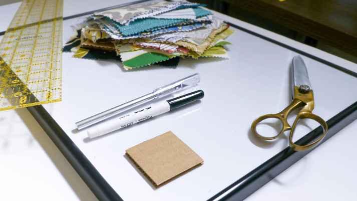 Dry Erase Fabric Calendar Supplies
