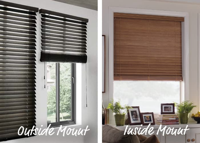 How To Install Aluminum Blinds Outside Mount Measure It Right Tips