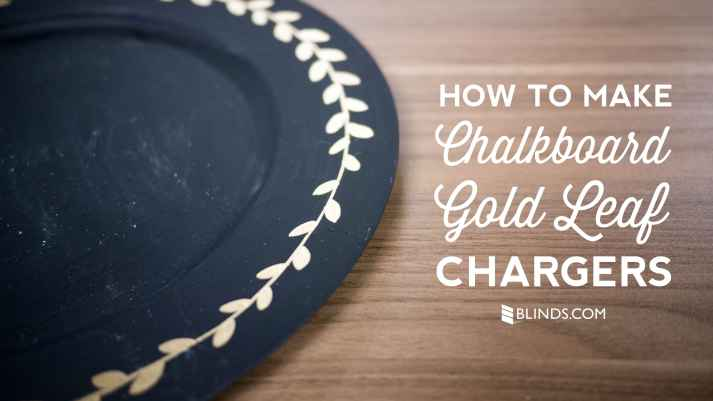how-to-make-chalkboard-gold-leaf-chargers