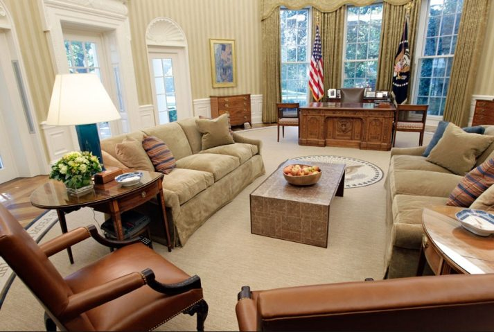Oval Office Decor Through The Decades The Blinds Com Blog