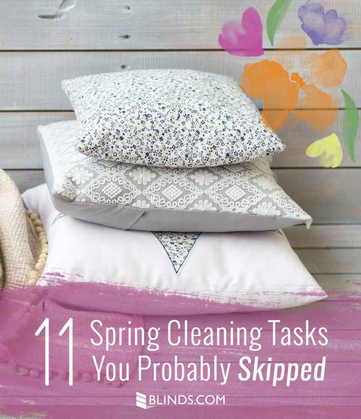 11 Spring Cleaning Tasks You Probably Skipped