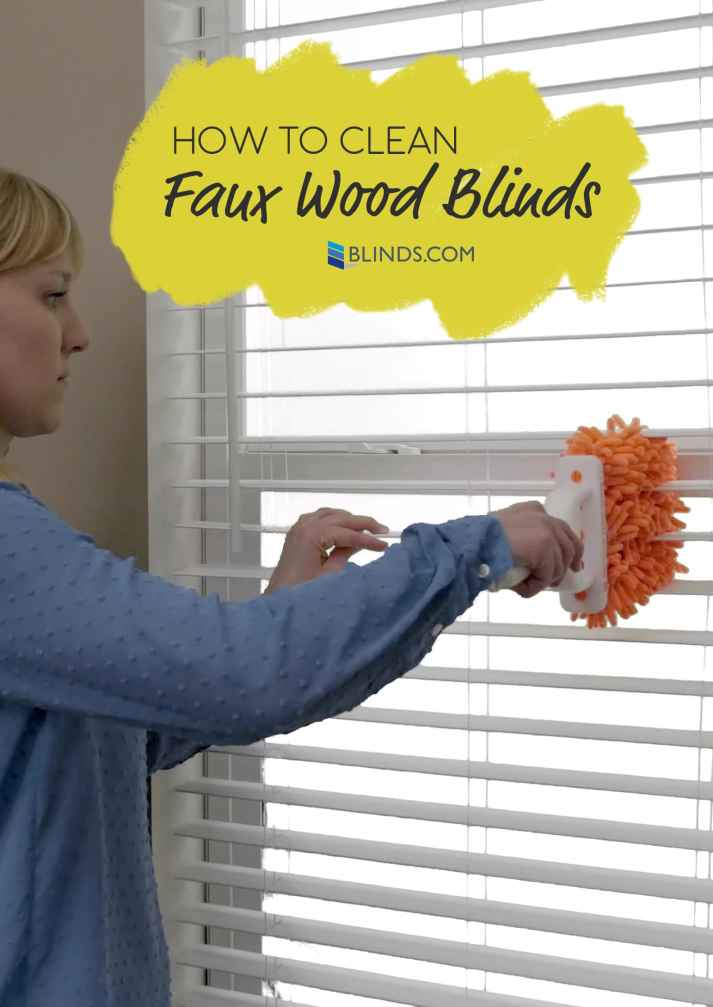 How to Clean Faux Wood Blinds | Blinds.com
