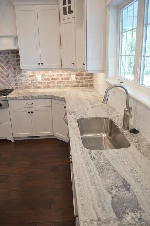 grey stone countertops