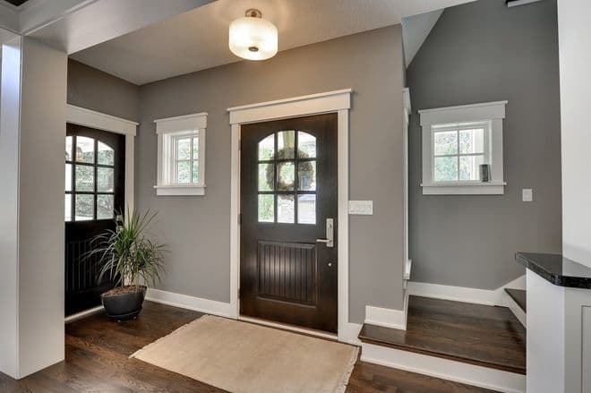 Griege neutral entry paint color