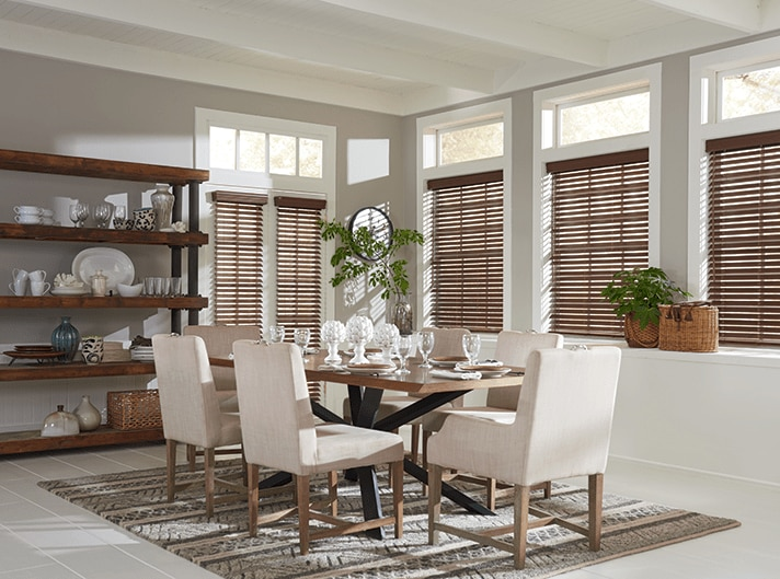 "Blinds.com 2"" Deluxe Wood Blinds in Nutmeg"