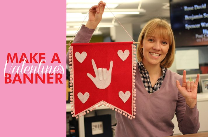 sign language valentine's day sign