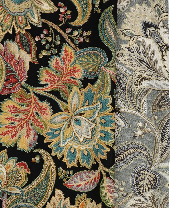 intricate floral damask fabric for roman shades