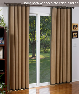 drapes for patio doors blinds chalet