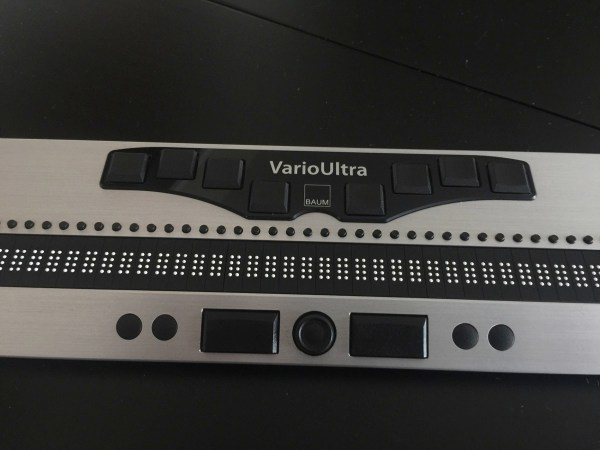 A close up image of the VarioUltra 20 from the front.