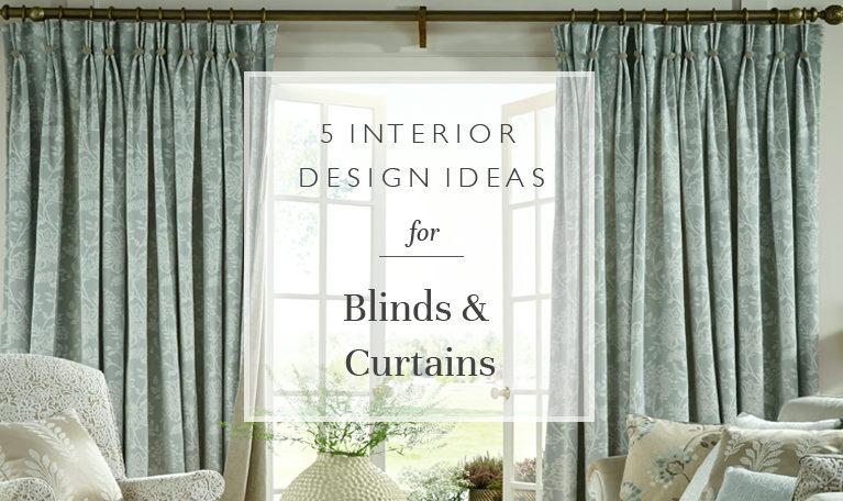 interior design ideas blinds