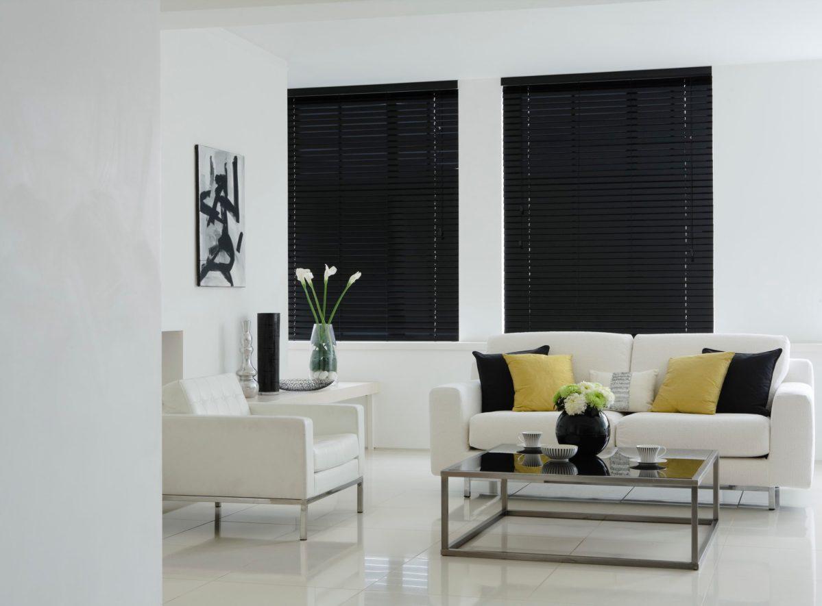 Dark out roller blinds