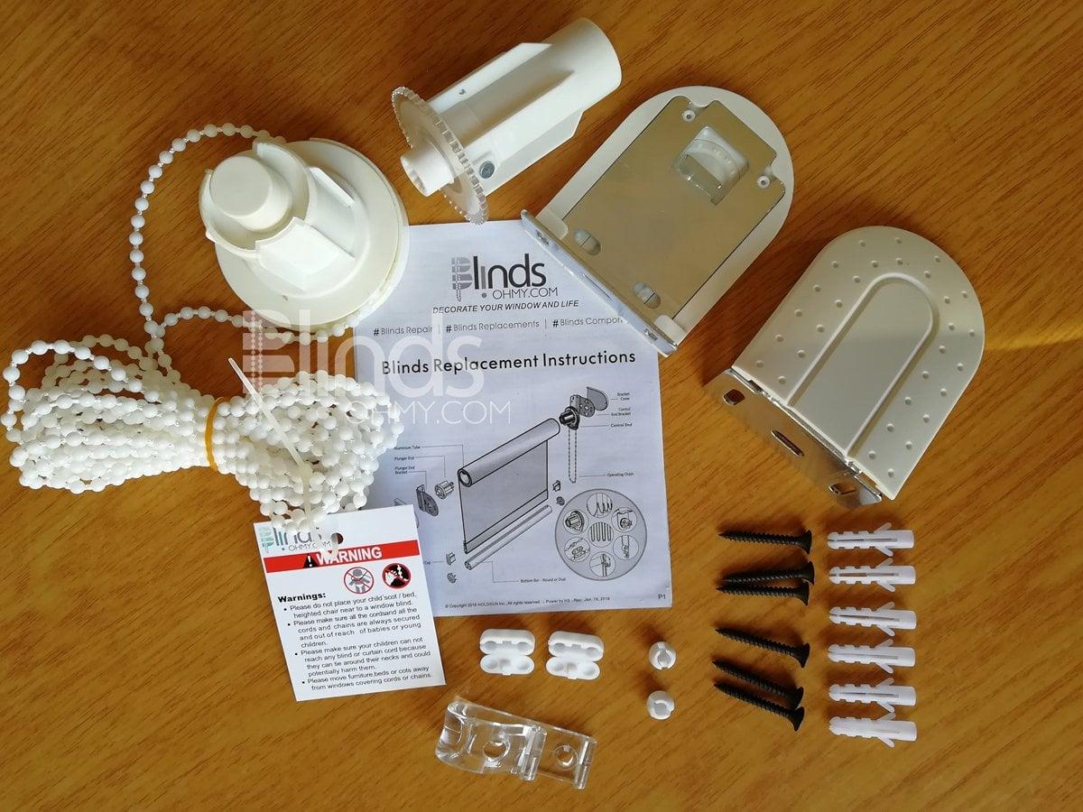 practical bead string roller blind