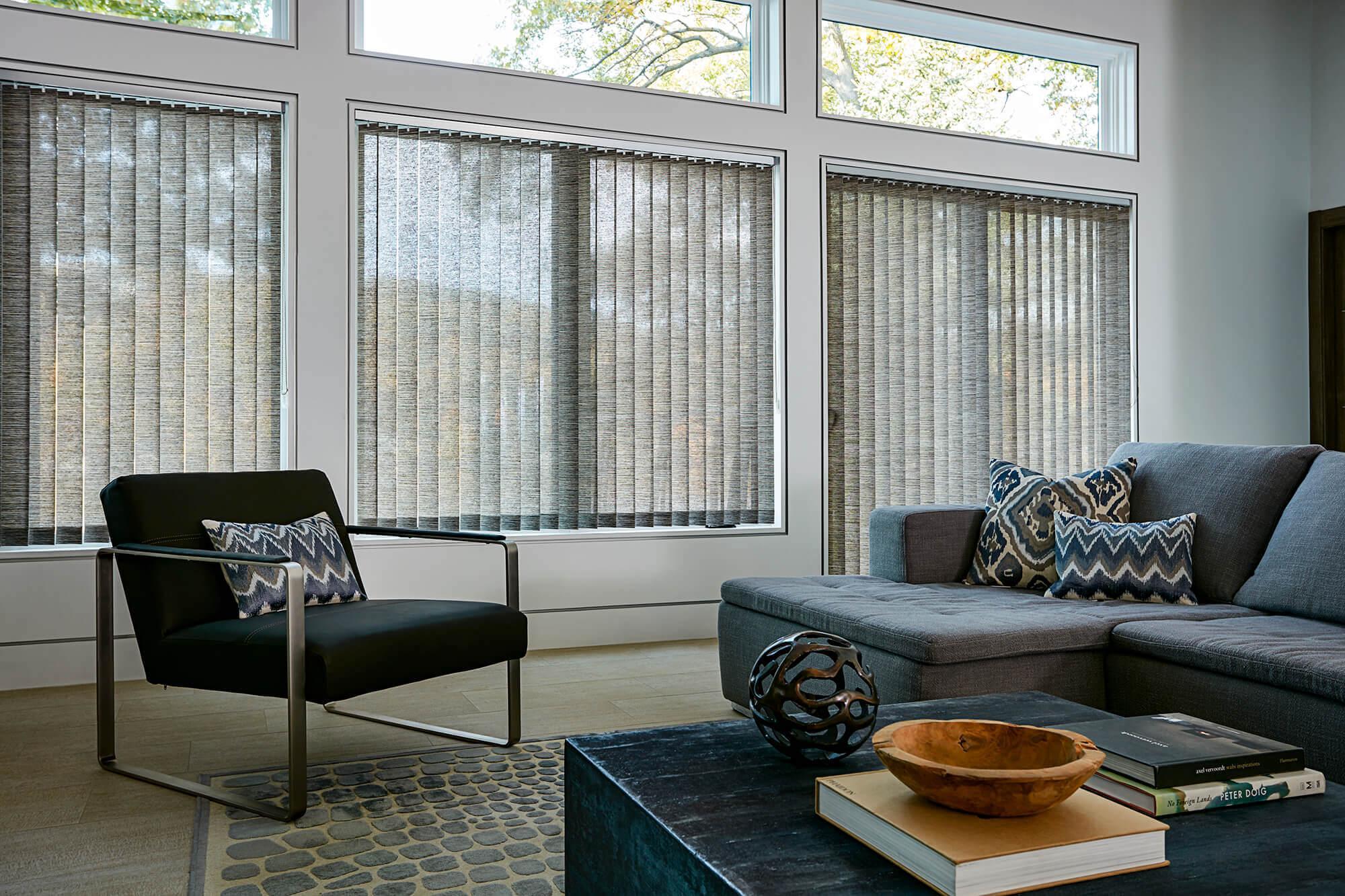 fabric vertical blinds custom made