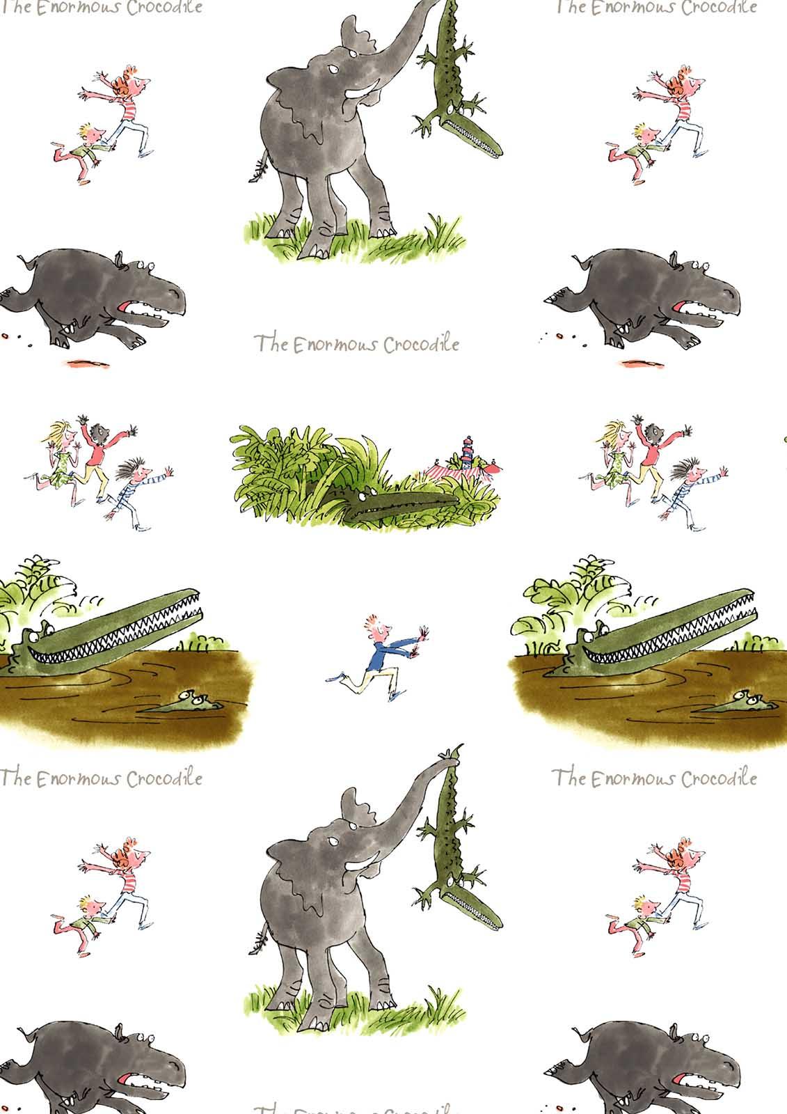 Enormous Crocodile Eno001 Blindtex