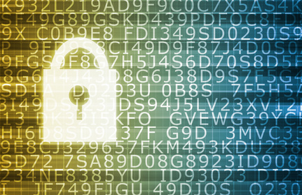 Image of secure data