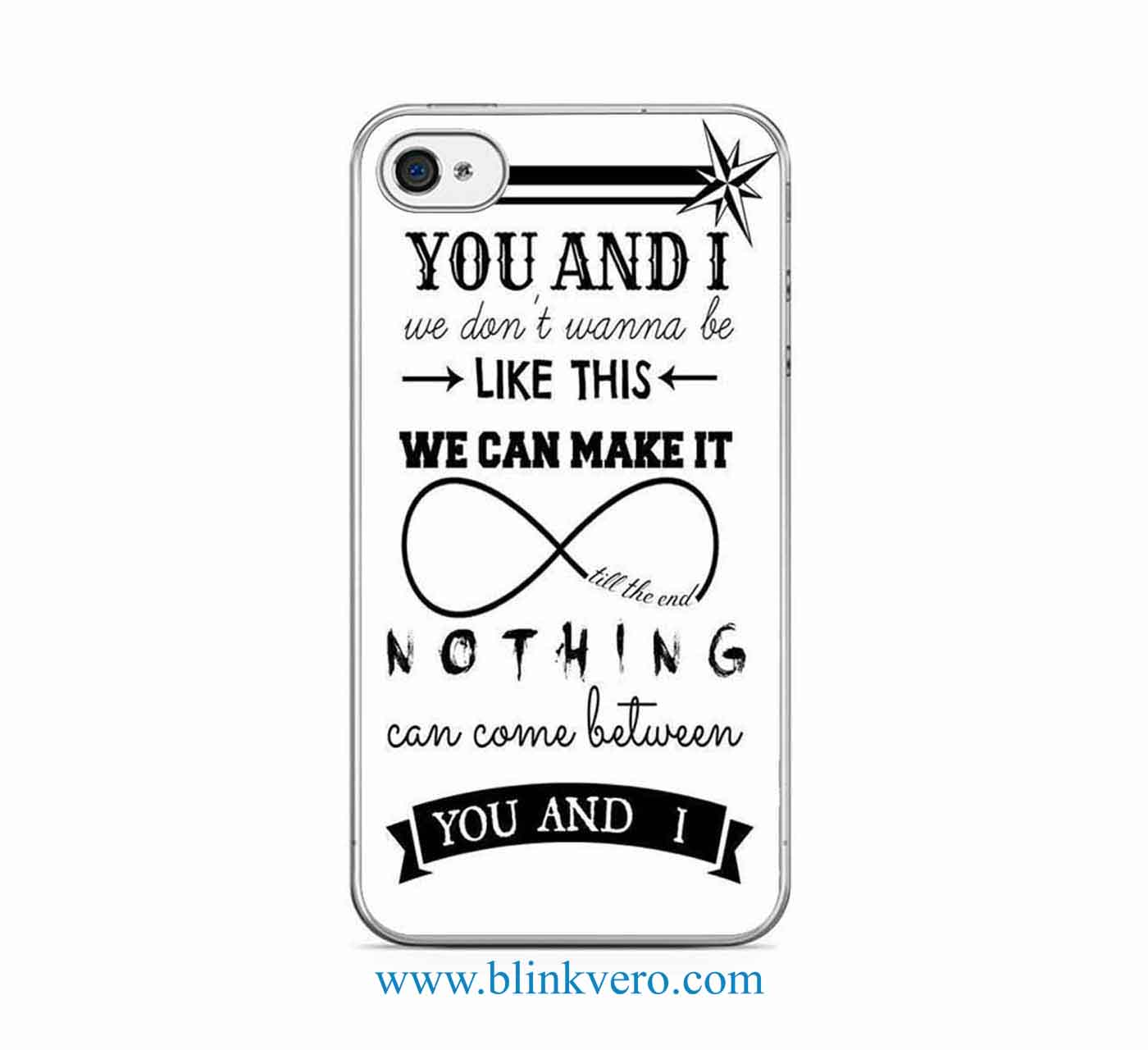 One Directions Nice Quotes Protective Iphone Samsung
