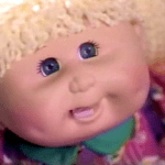 Mattel Snacktime Cabbage Patch Kid doll
