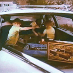 Marx Carry-All Action Play Sets in the car