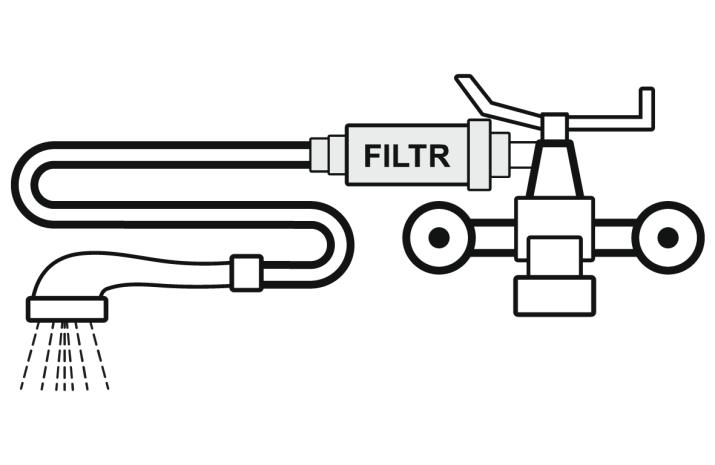 Filtr prysznicowy - montaz 2