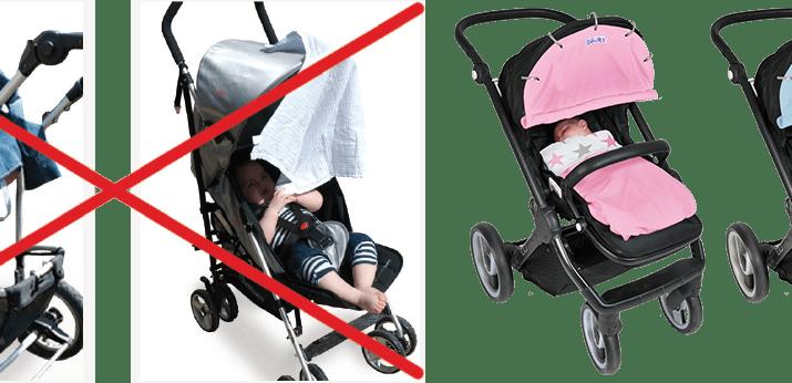 Osłonka Dooky i koniec walki z parasolką do wózka