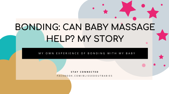 can baby massage help bonding