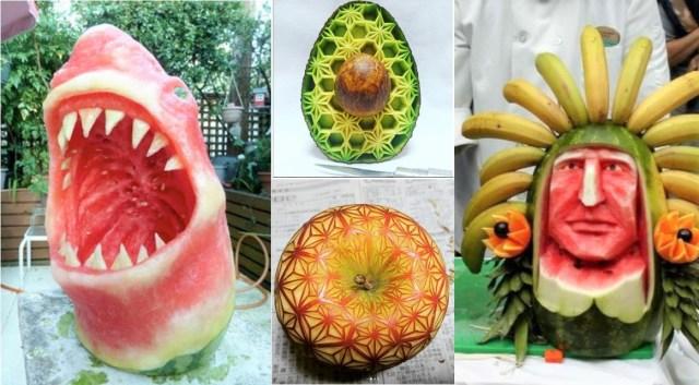 出自日本雕刻家神之手! 可以吃的超精緻藝術品