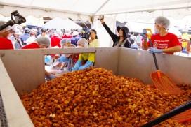日本鳥取市「大山dori」以最多炸雞塊供給量 成功打破健力士世界紀錄