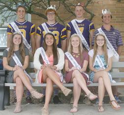2016 Blissfield High School Fall Homecoming Court